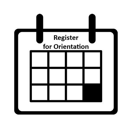 Register for Orientation